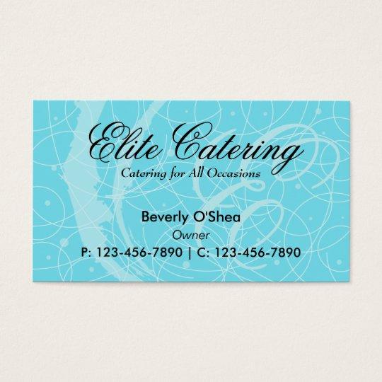 Flemish Business Card/ Blue Business Card