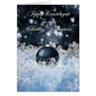 flemish christmas card - Fijne kerstdagen