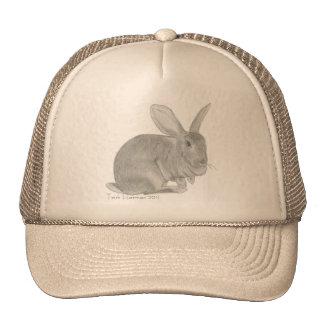 Flemish Giant Rabbit Sketch Hats