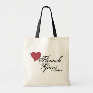 Flemish Giant rabbits Tote Bags