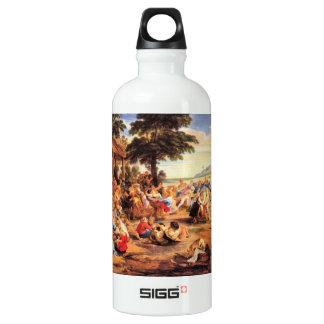 Flemish Kirmes by Paul Rubens Aluminum Water Bottle