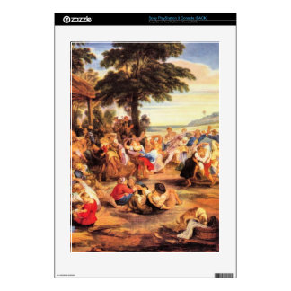 Flemish Kirmes by Paul Rubens Decal For The PS3