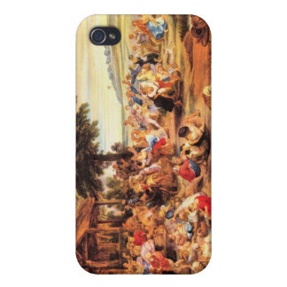 Flemish Kirmes by Paul Rubens iPhone 4/4S Cover