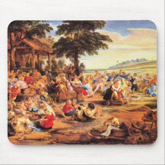 Flemish Kirmes by Paul Rubens Mouse Pad