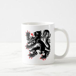 Flemish Lion. Coffee Mug