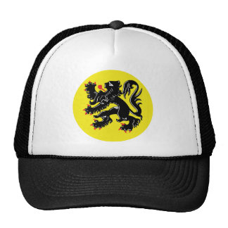 Flemish lion of Flanders cap