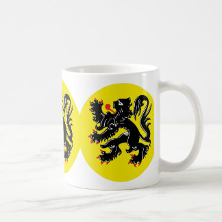 Flemish lion of Flanders koffiemok standard Classic White Coffee Mug