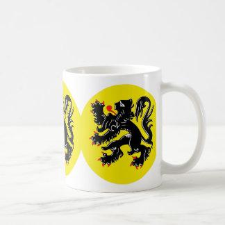 Flemish lion of Flanders koffiemok standard Coffee Mug