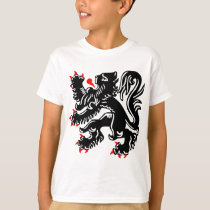 Flemish Lion. T-Shirt