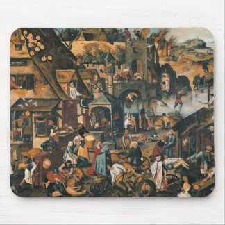 Flemish Proverbs Mouse Pad