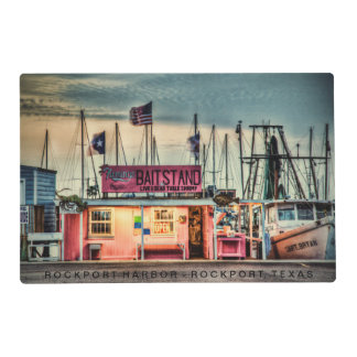 """Flemmings Bait Stand"" Placemat"