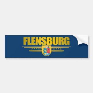 Flensburg Pegatina Para Auto