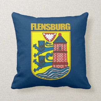 """Flensburg"" Throw Pillow"