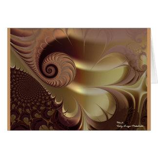 Flesh Beautiful Abstract Fine Art Fractal Card