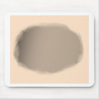 Flesh Circle Background Mouse Pad