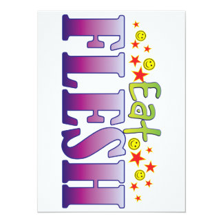 Flesh Eat 5.5x7.5 Paper Invitation Card