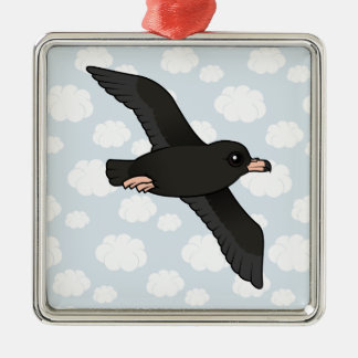 Flesh-footed Shearwater (flying) Metal Ornament