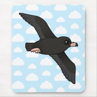 Flesh-footed Shearwater (flying) Mouse Pad