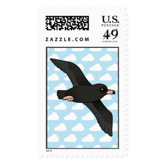 Flesh-footed Shearwater (flying) Postage Stamp