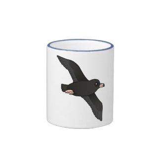 Flesh-footed Shearwater (flying) Ringer Mug