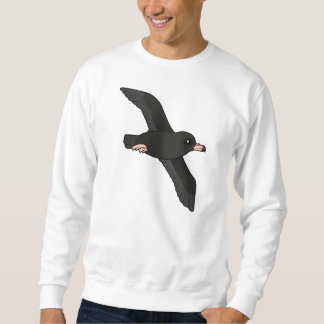 Flesh-footed Shearwater (flying) Sweatshirt
