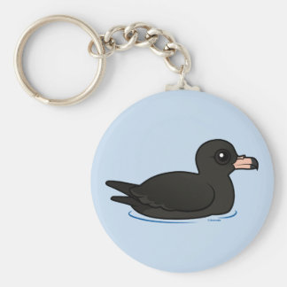 Flesh-footed Shearwater Keychain