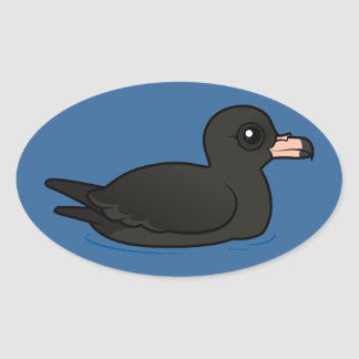 Flesh-footed Shearwater Oval Sticker
