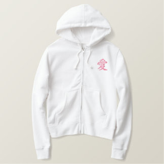 flesh KANJI Embroidered Hoodie