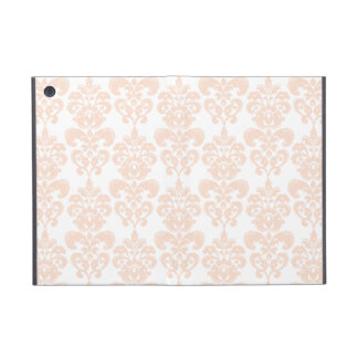 FLESH PINK GIRLY DAMASK PATTERN 2 iPad MINI COVER