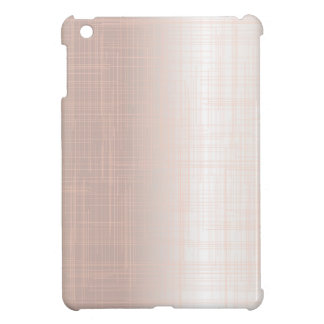 Flesh Pink Grunge Effect Background iPad Mini Covers