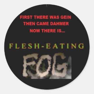 flesheating fog stickers