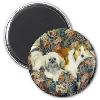 Fletcher and Chuey 2 Inch Round Magnet