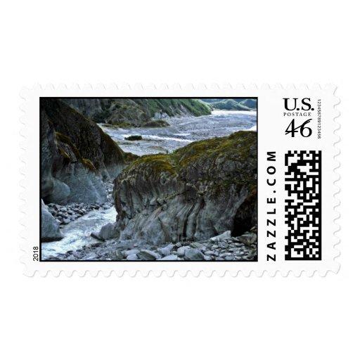 Fletcher Bridge, Franz Joseph Glacier Stamps