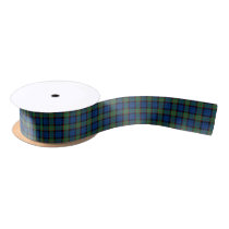 Fletcher Clan Tartan Satin Ribbon