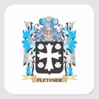 Fletcher- Coat of Arms - Family Crest Stickers