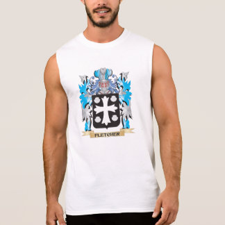 Fletcher- Coat of Arms - Family Crest Sleeveless T-shirts