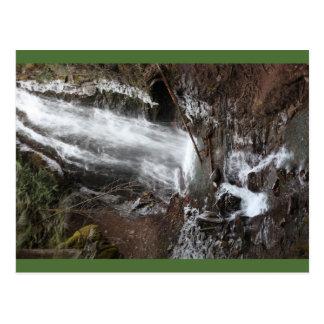 Fletcher Falls, BC, Canada, Postcard