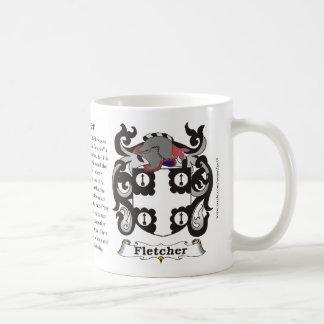 Fletcher Family Coat of Arms Mug