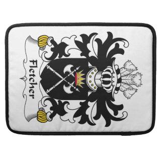 Fletcher Family Crest Sleeve For MacBooks