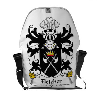 Fletcher Family Crest Messenger Bags