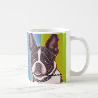 Fletcher la taza de Boston Terrier