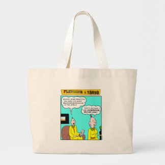 Fletcher & Tanya Large Tote Bag