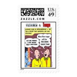 Fletcher & Tanya Postage Stamp