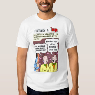 Fletcher y Tania #3 Camisas