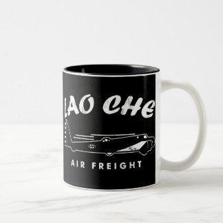 Flete aéreo de LAO-CHE Taza De Dos Tonos