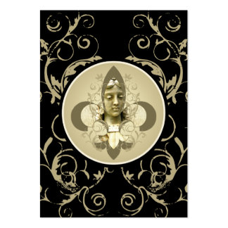Fleur Angel Statue cards Large Business Cards (Pack Of 100)
