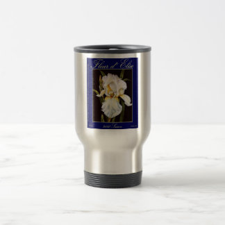 Fleur d' Elise 2011 Bleu Tap 15 Oz Stainless Steel Travel Mug