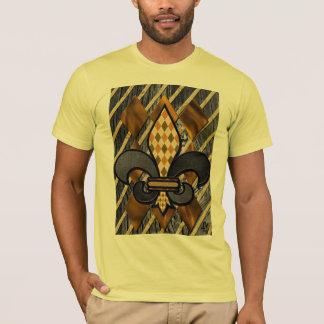 fleur d lis fine art t-shirt
