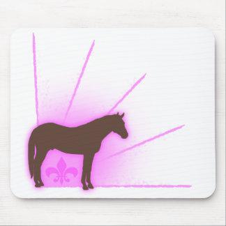 Fleur De Equine Mouse Pad