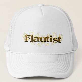 Fleur de flute apparel trucker hat